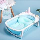 Panda Kunststoff Umweltfreundliche Baby Badewanne Neugeborenen Gefaltet Sitzenden Liegenden Rutschfeste Waschbecken Bad Stuhl Kinder Können Sitzen und Liegen,G