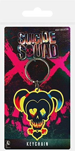 DC rk38564C Suicide Squad Harley Quinn Totenkopf Gummi (Zeichen Quinn Harley)