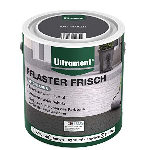 Ultrament Lasur Pflaster Frisch, Anthrazit