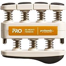 prohands by Gripmaster PRO- Aparato entrenador de dedos, color Naranja - Fuerte