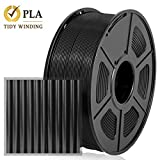 Enotepad PLA Plus 3D Printer Filament, 1.75mm PLA Plus Filament, Dimensional Accuracy +/- 0.02mm,Soft & Non-toxic Material, Enotepad PETG (8-PLA, 1Black)