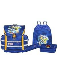 Mc Neill Schoolbag Set, Blau/Gelb (Multicolour) - 9605160000