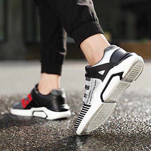 JOYTO Uomo Scarpe da Ginnastica Corsa Sportive Fitness Running Basse Casual All'aperto Sneakers Nero Bianca Grigio 39-46 Giallo