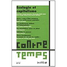ContreTemps, N° 12 : Ecologie et capitalisme