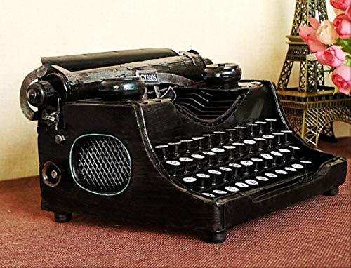 SDAFGSF Vorbildliche Dekoration,Alte Schreibmaschine Englisch Nicht-chinesischen Möbeln Requisiten Modell 24 * 18 * 12 cm