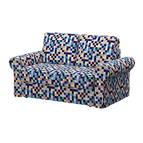 Soferia - IKEA BACKABRO Funda para sofá Cama de 2 plazas, Mozaik...