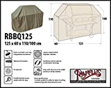 Raffles Covers RBBQ125 Schutzhülle für Gasgrill 125 x 60 H: 110/100 cm Wetterschutzhülle für Grill, Abdeckplane BBQ