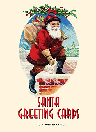 Santa Greeting Cards: 20 Assorted Cards