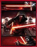 1art1® Star Wars Mini Poster et Cadre (Plastique) - Le Réveil De La Force Épisode VII, Kylo Ren (50 x 40cm)