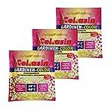 3 x Cekasin Gardinen-Color, Gardinen-Waschmittel, Farbauffrischung, Waschpulver
