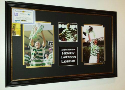 NEW-Henrik-Larsson-of-Celtic-Signed-Photo