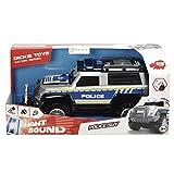 Dickie Toys 203306003 - Police SUV Spielzeugauto mit Freilauf, Licht, Sound, 30 cm