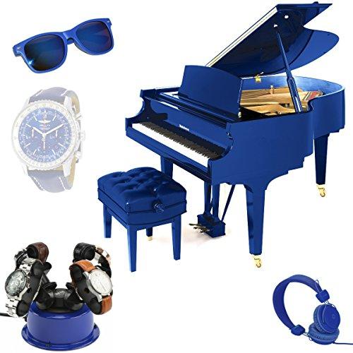 MTE Uhrenbeweger WTS 4 POP BLUE für bis zu 4 schwere Uhren - 3