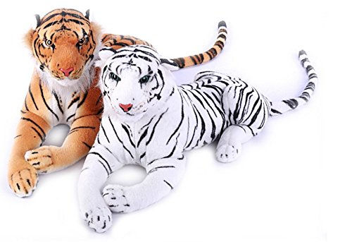 Deals India White And Brown Tiger Combo