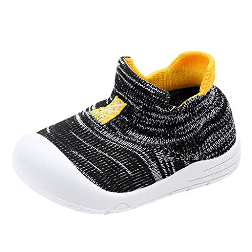 Alwayswin Baby Jungen Mädchen Socken Schuhe Kleinkindschuhe Mode Slip-On Mesh Babyschuhe Flache Bequem Weich Kinderschuhe Outdoor rutschfest Wanderschuhe Wild Einzelne Schuhe -