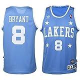 Kobe Bryant Los Angeles Lakers Youth Hardwood Classics Anima Jersey, Blue