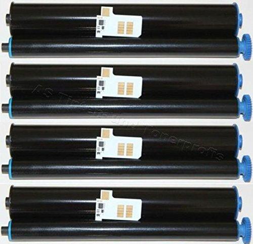 Preisvergleich Produktbild 4x Kompatible Faxrolle für Philips Magic-5 Inkfilm PFA-351 / 352