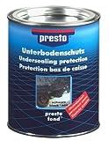 Presto 603260 UBS UNTERBODENSCHUTZ Bitumen STEINSCHLAGSCHUTZ Schwarz 2,5 kg