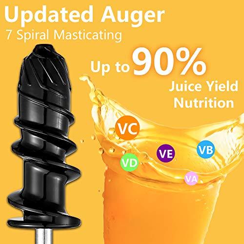 Slow Juicer – Günstiger Gemüse und Obst Entsafter Bild 2*