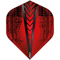 Red Dragon Hardcore Radical Extra Thick Standard Dart Flights - 4 sets Per Pack (12 Dart Flights in total) Checkout Card