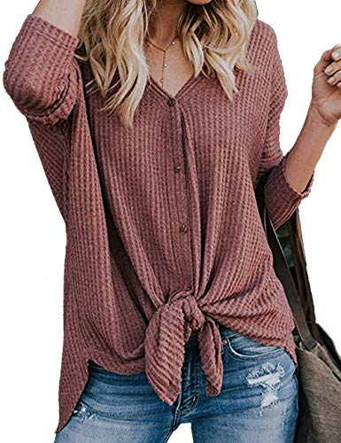 Loose knot tunic blouse