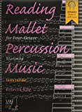 Reading Mallet Percussion Music: For Four-Octave Marimba, Book & CD