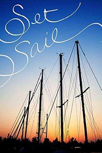 Susan Bryant – Set Sail Kunstdruck (30,48 x 45,72 cm) (Set Bryant)