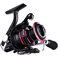 Goture Spinning Reel - Stainless Steel Bearings Smooth Powerful Saltwater Carp Fishing Reel Spinning 5.2: 1 Gear Ratio Reels Left/Right Interchangeable Ice Fishing Reels