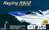 LRP Electronic–Rayline R902Tiger Shark Hohe Geschwindigkeit RC Boot denen es mit dem Motorboot von der Motorboot-Rennen