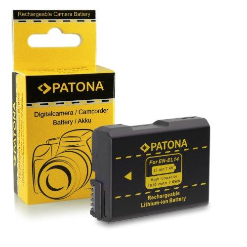 M&L Mobiles | Batería de primera calidad como Nikon EN-EL14 con Infochip · 100% compatible con Nikon D3100 | D3200 | D5100 | P7000 | P7100 | P7700