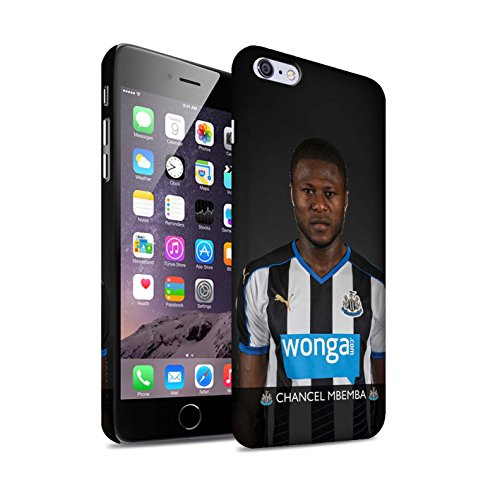 Offiziell Newcastle United FC Hülle / Matte Snap-On Case für Apple iPhone 6S+/Plus / Janmaat Muster / NUFC Fussballspieler 15/16 Kollektion Mbemba