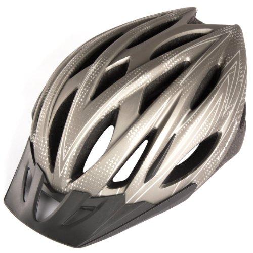 Zoom IMG-1 ultrasport tours casco ciclista argento