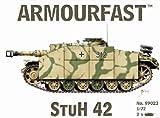 Armourfast 1/72 German StuH 42 Model Kit - Contains 2 Tanks