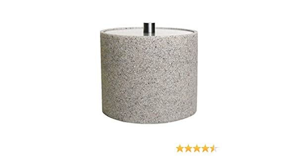 Desert Sand Stone Vanity Pot Cotton Wool Jar