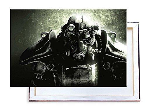 Unified Distribution Biomechanik Krieger - 60x40 cm - Bilder & Kunstdrucke fertig auf Leinwand aufgespannt und in erstklassiger Druckqualität