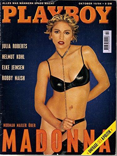 Playboy Magazin Oktober 1994 Zeitschrift Original Deutsche Ausgabe 10/1994 - Sex Madonna