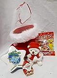 Unbekannt 110635 Nikolausstiefel 8cm mit Teddy gefüllt als Nikolausgeschenk Wichtel