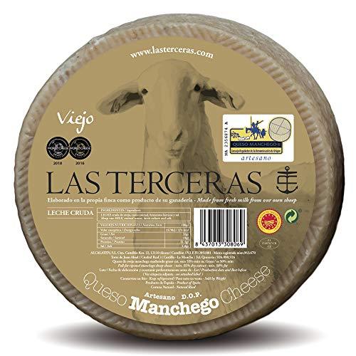 Las Terceras queso manchego viejo artesano DOP 2500 gr