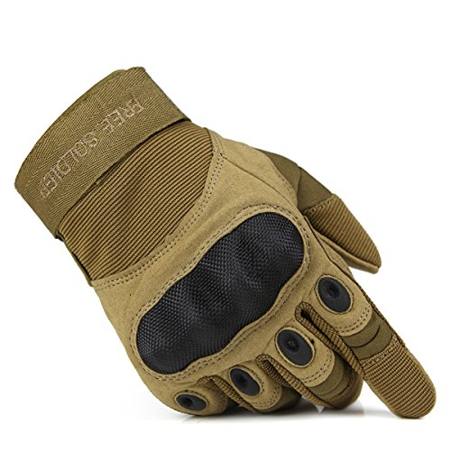 FREE SOLDIER Full Finger Outdoor Handschuhe für Radfahren Jagd Camping, Herren Handschuhe