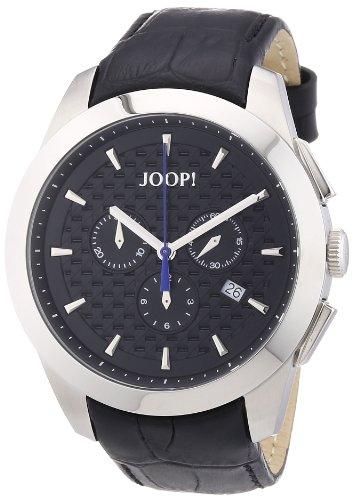 Joop - JP101071F06 - Montre Homme - Quartz Chronographe - Chronomètre - Bracelet Cuir Noir