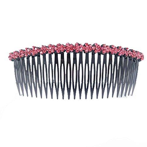 Bijoux Accessoires Hairpin Peigne Bangs Chuck Top Card Hair bord strass