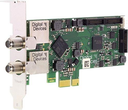 Digital Devices Twin Tuner TV Karte DVB-S/S2 (PCI Express Karte) - DD Cine S2 V7A