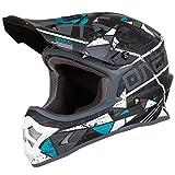 O'Neal 3Series Zen Motocross Motorrad MX Bike Helm FMX Enduro Moto Cross Offroad Quad Trail, 0623-Z-Adult, Farbe Petrol, Größe M