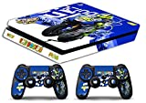 Skin Ps4 SLIM - VALENTINO ROSSI THE DOCTOR 46 - limited edition DECAL COVER Schutzhüllen Faceplates playstation 4 SONY BUNDLE