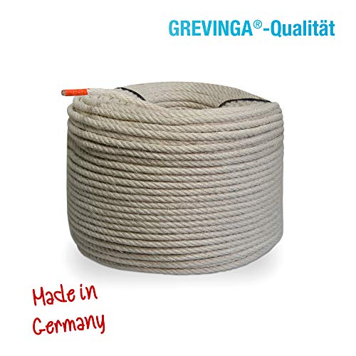 Grevinga® Sisal-Seil Ø 10 mm (versch. Längen) (50 Meter)