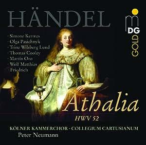 Handel: Athalia /Kermes · Pasichnyk · Lund · Cooley · Oro · Friedrich · Collegium Cartusianum · Neumann