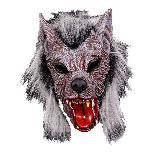 (KARNEVALS-GIGANT Werwolf Maske Halloween Maske)