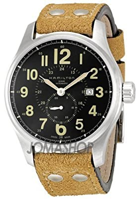 Hamilton Khaki Field Officer Auto Small Sec Plata Reloj H70655733