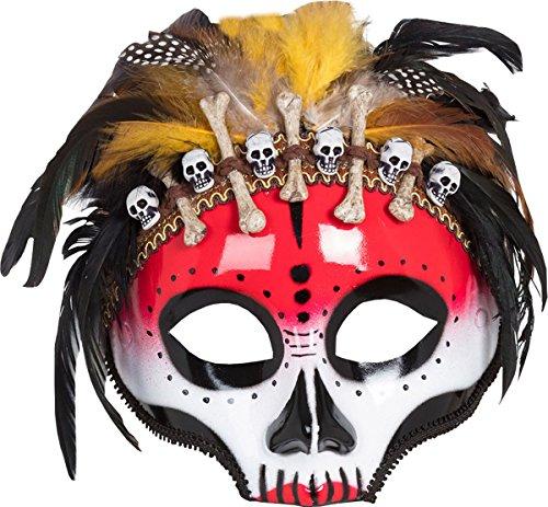 Erwachsene Halloween Kleid Party Kostüm Zubehör Mexikanisch Voodoo Maske