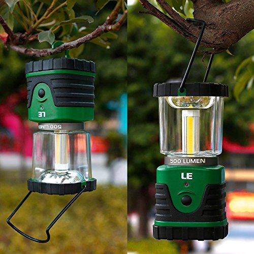 LE 500lm Laterne Superhell COB LED Campinglampe